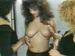 Barbara Alton, Christy Canyon, Carmel Nougat in vintage xxx scene