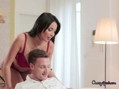 Husband Entices Hot Wife Anissa Kate After A Valentine Dinner