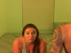 Chubby gf & me private webcam toying