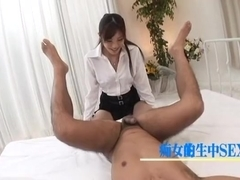 Ryo Shinohara Uncensored Hardcore Video with Swallow, Creampie scenes