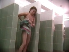Hidden cameras in public pool showers 873