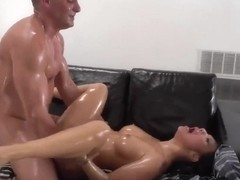 Nuru Fuck Wildly hot couple have wildly hot sex