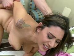 Jordan Ash fucks his best friend hot girlfriend Raylene for some cash