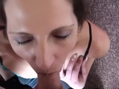Hottest pornstar Marie Madison in incredible deep throat, brazilian sex scene