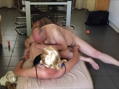 Amazing Homemade Shemale movie with Blonde, Mature scenes