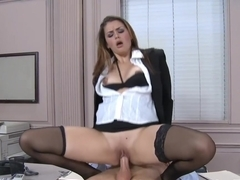 Allie Haze & Mark Zane in Naughty Office