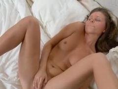 Sweet dildo in her brutally hot snatch