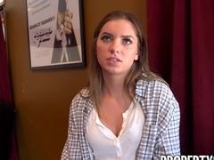 PropertySex Tight Teen Summer Brooks Fucks To Get House