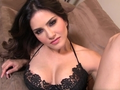 Exotic pornstar Sunny Leone in Hottest Striptease, Softcore xxx clip