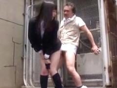 Hottest Japanese slut Hitomi Fujiwara, Mina Yoshii in Fabulous Doggy Style, Outdoor JAV movie