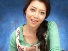 Best Japanese chick Maki Hojo in Fabulous POV, Fetish JAV clip
