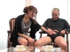 Yuki Maya in Yuki Maya is amusing her husband's naughty friend - AviDolz