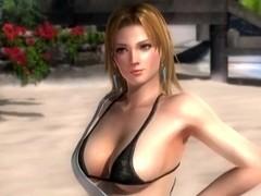 Tina Armstrong - DOA5 - nude posing - 3d billibongs
