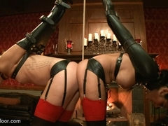 Dylan Ryan & Beretta James in Synchronicity In Servitude - TheUpperFloor