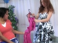 LickNylons Clip: Joanna A and Theodora