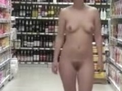 Naked in the Grocery Store