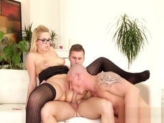 Nikkis Dream Was To Have A Threesome With Two Bisexual Guys