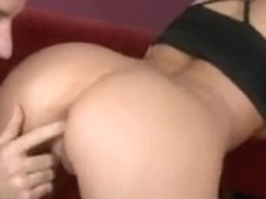 Double penetration fuck video with sexy Gina