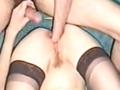 Awesome Blondie Giving Oral-Job Job