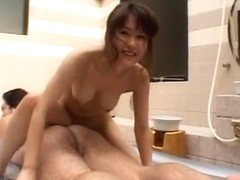 Exotic Japanese whore Megu Ayase in Incredible Cumshots, Big Tits JAV movie