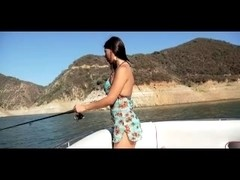 Oriental babe enjoys interracial sex on the boat