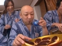Guys Team Up On Mirei Yokoyama To Get Her Cumming