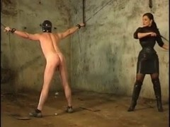 hard punished by the domina