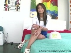 Filipina darling Leilian gets ass fucked by her sweetheart