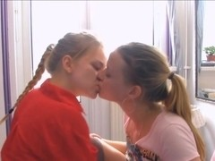2 Sexy Young lesbians