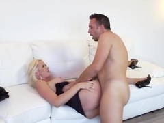 Blonde Milf Gigi Allens Gets Cum In Her Mouth After Sex
