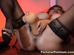 Sexy Vanessa in Fresh Produce Self Lovin