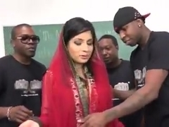 Pakistani Nadia Ali Sucks and Fucks Many BBCs