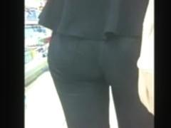 Amazing Ass in leggings
