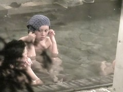 Naked dolls with hot oriental charms in the cool pool nri054 00
