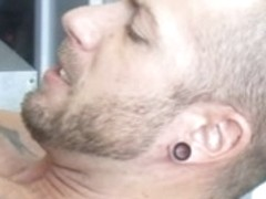 Hairy middle-aged gays do oral and anal