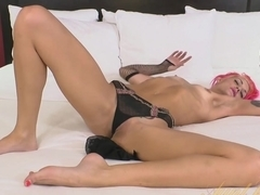 Exotic pornstar in Horny Masturbation, Redhead porn movie