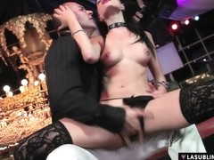 LaSublimeXXX Valentina Canali squirt in intense anal se