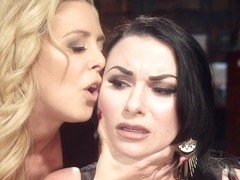 Cherie Deville & Veruca James in Lezdom Private Eye: Cherie Deville Spanks, Flogs, & Fucks Veruca .