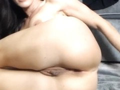 hot milf spreads ass