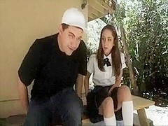 R.L. skinny schoolgirl