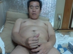 Satoshi86m small cock of , masturbation with lotion