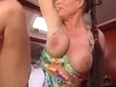 Valerie de Winter german mother i'd like to fuck and her thrall assfuck on a boat troia