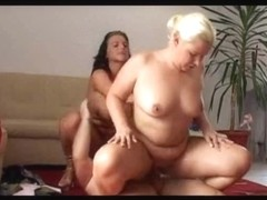 2 German big beautiful woman fucking one Mate (sk)