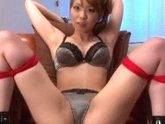 Best Japanese model Eri Ouka in Incredible Couple, Toys JAV scene