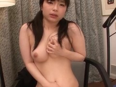 Cute Japanese Teen cums hard