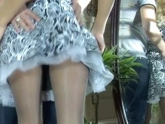 PantyhoseLine Movie: Blanch and Adam