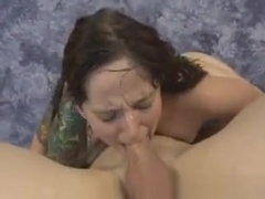 Brunette Dirtbag Maci May Face Fucked And Spitting Up