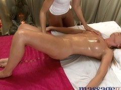 Horny young girls get an intense orgasm from their clitoris