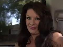 Raquel Devine nailed by big ebony cock