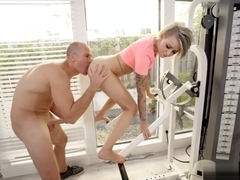 Cutie Blonde Teen Pressley Carter Fucked By Her Gym Body